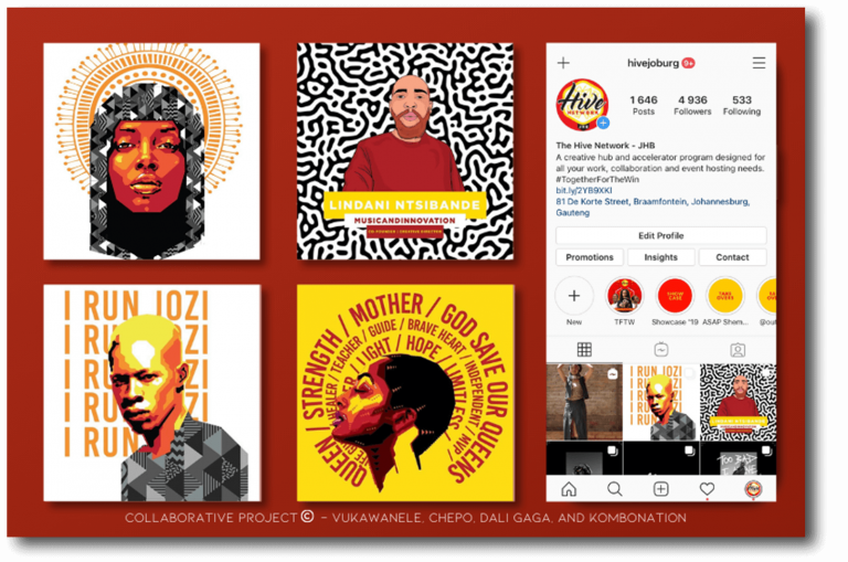 Hive Joburg Instagram Marketing Example Instagram Post Images